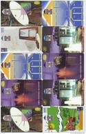 COSTA RICA 10 Telecartes Phonecards (R) - Costa Rica