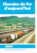 Cheminde Fer D'aujourd'hui-plaquette De 6 Pages Illustrées De Cartes-1981- - Andere