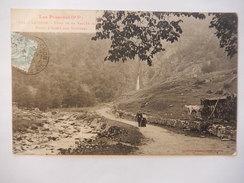 CPA (31) - LUCHON - FOND DE LA VALLEE DU LYS - POINT D'ARRET DES VOITURES - ANIMEE - C1906 -  R1751 - Luchon