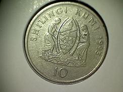 Tansanie 10 Shilingi 1993 - Tanzanie