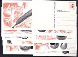 Bophuthatswana Postal Stationery 10 Different Cards Unused (35908) - Bophuthatswana
