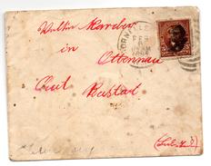Carta Con Matasellos De Hornellsville  1895 - 1847-99 Emisiones Generales