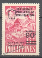 Philippines - Filipinas 1979 Yvert A 82, First Scouting Philatelic Exhibition - Air Mail - MNH - Filipinas