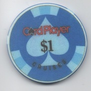 Jeton De Casino Sur Mer : Card Player Cruises $1 - Casino