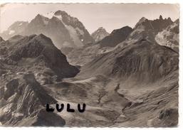 DEPT 05 : En Sépia  édit. F Francou A Briancon N° 133 : Le Pelvoux Et Les Rochers De Clouzis - Zonder Classificatie
