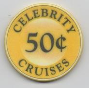 Jeton De Casino Sur Mer : Celebrity Cruises 50¢ - Casino