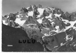 DEPT 05 : édit. F Francou N° 309 : Pic Des Agneaux Et Arêtes Des Cinéastes Vus Du Glacier Noir ( Caché Pre De Mne Car? E - France