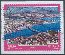 IU169 - TURISTICA, OLBIA - 2014 - 6. 1946-.. Repubblica