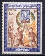 -75% Sur La Cote Algérie 1967 Neuf ** Y&T : 458 Jamboree Mondial D'Idaho  MNH**Algeria Idaho World Jamboree - Nuevos