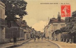 78-BONNIERES-SUR-SEINE- RUE DE PARIS - Bonnieres Sur Seine