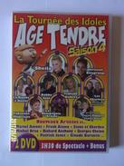 Age Tendre La Tournée Des Idoles Saison 4 - DVD Musicaux