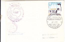 "Poland 1987 Cover Ca Paquebot Profesor Siedlecki"" (35916) - Poolshepen & Ijsbrekers"