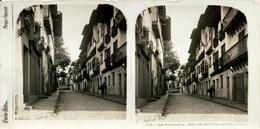 Hondarribia, Fontarrabie, Casas En Madera, Pais Basque - Fotos Estereoscópicas
