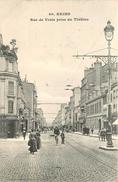 REIMS - Rue De Vesle Prise Du Théâtre. - Reims