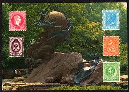 Bern - Denkmal Weltpostverein Gegründet 1874 - Gelaufen - Post & Briefboten