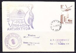 Poland 1985 Antarctica Ca M/s Antoni Garunszewksi Ca 4.2.85 Godynia (35919) - Poolshepen & Ijsbrekers
