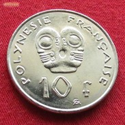 French Polynesia 10 Francs 2002 KM# 8 Polynesie Polinesia - Polynésie Française