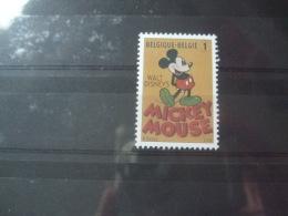Stripfiguren Disney Belgie Mickey Mouse Mnh - Disney