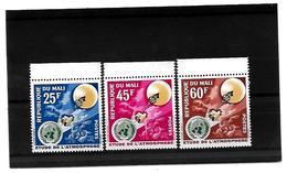 EDY 144 - MALI , Tre Valori Con Gomma Integra  ***  ATMOSFERA - Mali (1959-...)