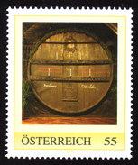 ÖSTERREICH 2009 ** Wein, Weinfass, Tausendeimerfass Vom Jahr 1704 - PM Personalized Stamp MNH - Wein & Alkohol