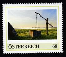ÖSTERREICH 2016 ** Alter Ziehbrunnen, Weinanbau Neusiedler See - PM Personalisierte Marke MNH - Wein & Alkohol