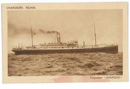 CPA BATEAUX CHARGEURS REUNIS LE PAQUEBOT JAMAIQUE - Dampfer
