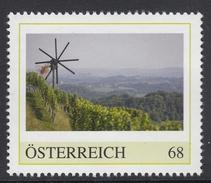 ÖSTERREICH 2016 ** Wein, Weinreben, Windmühle, Weinanbau Klapotetz Südsteiermark - PM Personalisierte Marke MNH - Wein & Alkohol