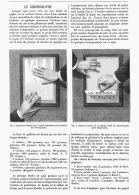 LE CHROMOGRAPHE  1880 - Sciences & Technique