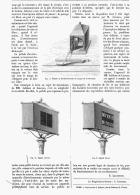 APPAREIL AVERTISSEUR Pour Les PASSAGES à NIVEAU DES CHEMINS DE FER  1880 - Chemin De Fer