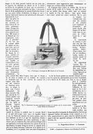TOURNIQUET ELECTRIQUE De MM. FONVIELLE  Et LONTIN  1880 - Sciences & Technique
