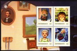 ÖSTERREICH 2013 ** Das Kleine Mädchen Mit Den Schwefelhölzern V.Christian Anderson -  PM Block MNH - Märchen, Sagen & Legenden