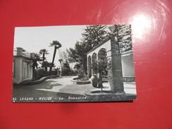 Cartolina Non - Vg- Fp -n-52 -lugano Melide-la Romantica - X L'italia - Switzerland