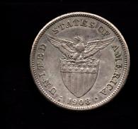FILIPPINE 1 PESO  1908 UNITED STATES OF AMERICA - Filippine