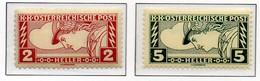 PIA - AUS - 1917 : Francobolli Per Espressi - (Yv 27-28) - 1850-1918 Impero