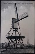 CPA Courtrai Moulin Du Parc Du Peuple Windmolen Van Het Volkspark Windmill 1911 - Kortrijk