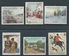 Paraguay      Y / T    942 / 947       (X)      Plakker      Schilderkunst    Winterlandschappen - Paraguay