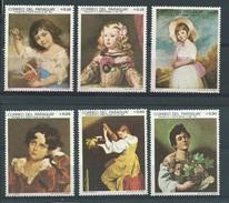 Paraguay      Y / T    948 / 953       (X)      Plakker      Schilderkunst    Kinderen - Paraguay