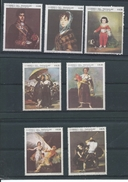 Paraguay      Y / T    1006 / 1012       (X)      Plakker     Schilderkunst   Goya - Paraguay