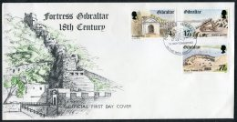 1983 Gibraltar Fortress First Day Cover - Gibraltar