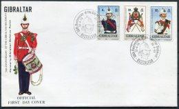 1989 Gibraltar Regiment First Day Cover - Gibraltar