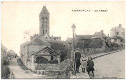 95 CHAMPAGNE - La Rampe    (Recto/Verso) - Champagne Sur Oise