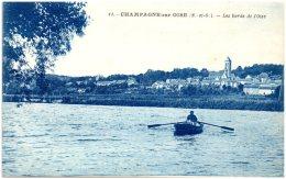 95 CHAMPAGNE-sur-OISE - Les Bords De L'Oise   (Recto/Verso) - Champagne Sur Oise