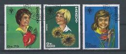 Paraguay      Y / T  Luchtpost   869 / 871      (O)   Jaar Van Het Kind - Paraguay