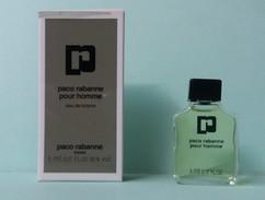 MINIATURES :PACO RABANNE POUR HOMME EDT 5 ML - Miniatures Hommes (avec Boite)