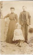 10 Nogent Sur Seine - Carte Photo, Famille Cibille ( Proptaires Brosserie)  Carte Datée 1910. Tb état. - Nogent-sur-Seine