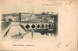 MONTBELIARD EGLISE CATHOLIQUE GRAND PONT - Montbéliard