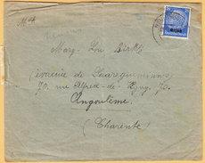 GO Of France Alsace 1940. 25Pf Hindenburg Overprinted Elsas Stamp Only Franking On Censored Cover Neubreisach - Occupation 1938-45
