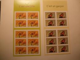 France Booklet Carnet Mnh  2004 Mi Nr 3776-3777 Birth 2 Booklets - Carnets