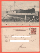 Nave Da Guerra Argentina Corazzata Rivadavia Sestri Genova Navires Navy Marine War Ships 1903 Ansaldo - Guerra