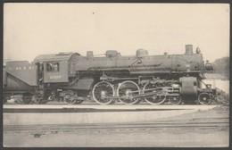 Erie Railroad Pacific 2907, 1944 - HMP Locomotives Des États-Unis CPSM - Trains